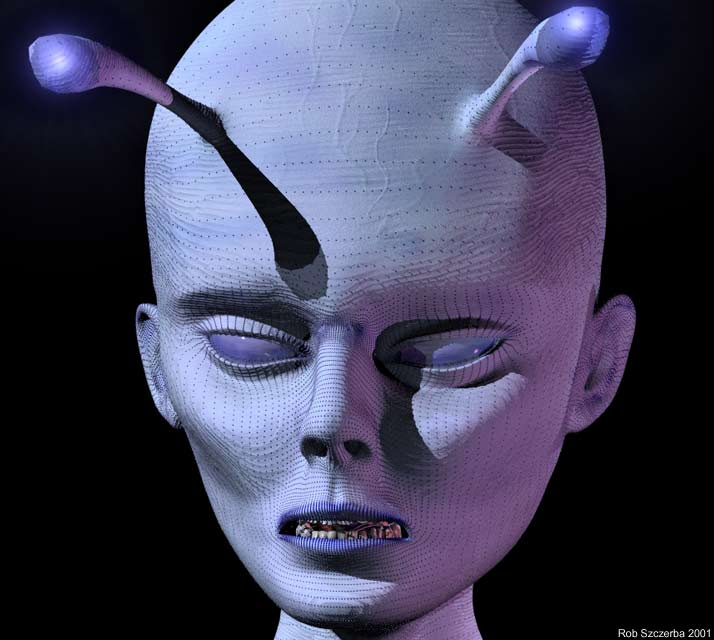 3d animation alien - 4 6